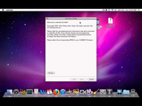Unlock iOS 4 2 1 iphone 3G 3GS Redsn0w 0 9 6Beta6 SAM for Windows and Mac  Tether UnTethered w/Link