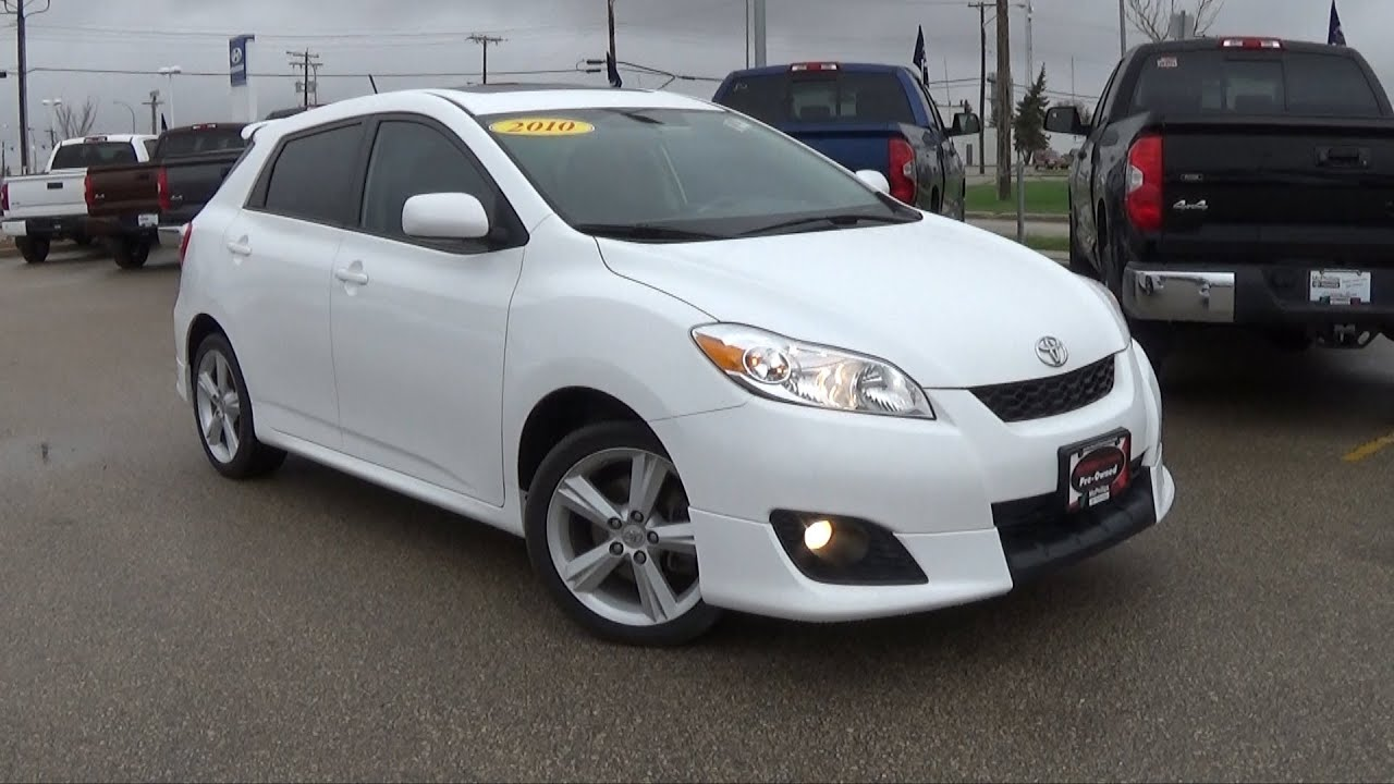 2010 Toyota Matrix XR Review, Start Up And Walkaround   YouTube