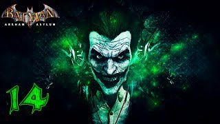 Batman: Arkham Asylum [60 FPS] прохождение на геймпаде часть 14 Харли Квинн на 2-ом месте:)