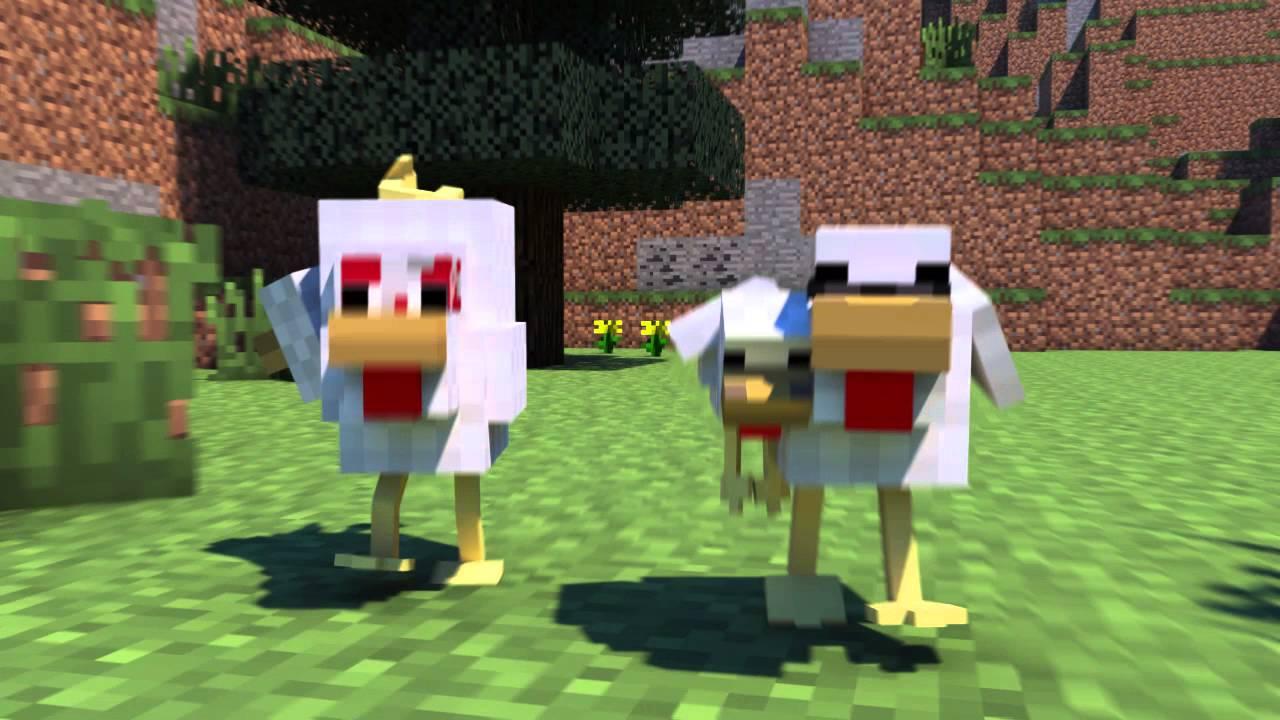 Chicken Coop Raid – Mianite Highlight (Minecraft Animation)