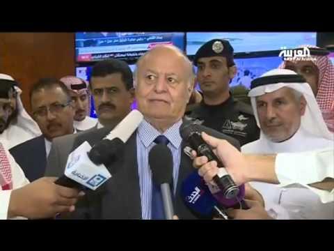 الرئيس اليمني يزور مركز الملك سلمان للإغاثة