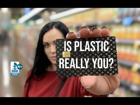 Design Your Own Custom Metal Credit Card - YouTube