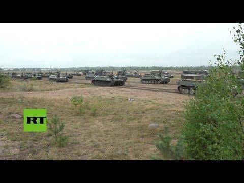 Arrancan las maniobras estratégicas de Rusia y Bielorrusia 'Zapad 2017'