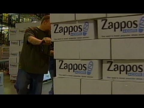 Zappos' biz model centers around UPS
