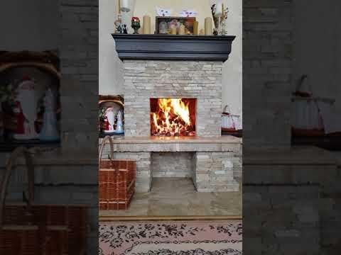 Тепло из камина в зимнее время не заменишь ни чем.