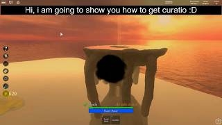 Roblox Vale School Of Magic How to get Curatio