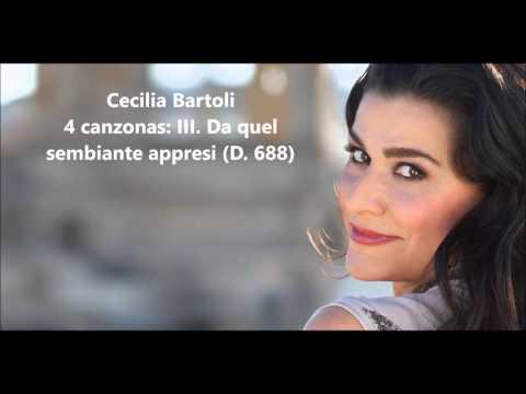 Cecilia Bartoli: The complete 4 canzonas D. 688