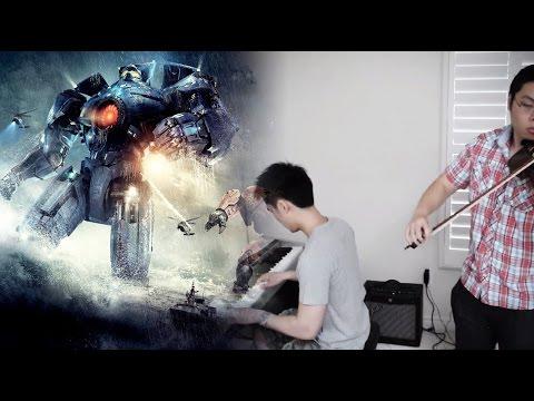 PACIFIC RIM - Main Theme (Violin & Piano Duet) ft. HarbingerDOOM