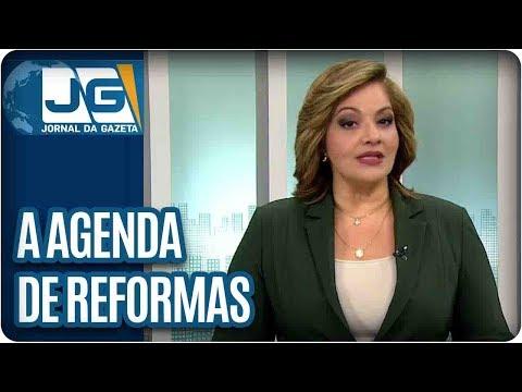 Denise Campos de Toledo  A agenda de reformas do governo Temer em pauta no Congresso