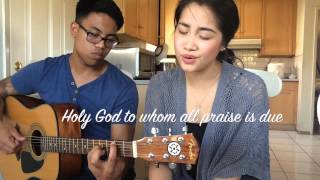 I Stand In Awe Of You - Cover by Kayzel Mendoza ft. Paul Delos Santos
