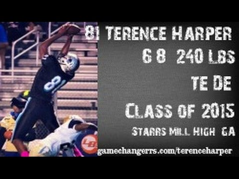 #81 Terence Harper / TE,DE / Starrs Mill High (GA) Class of 2015
