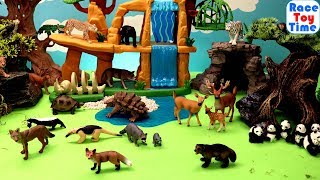 Fun Wild Animals Toys Surprises For Kids  -Learn Animal Names