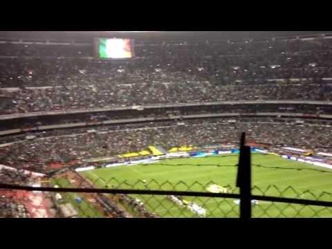#USAvsMEX Mexico's national anthem, it was LOUD