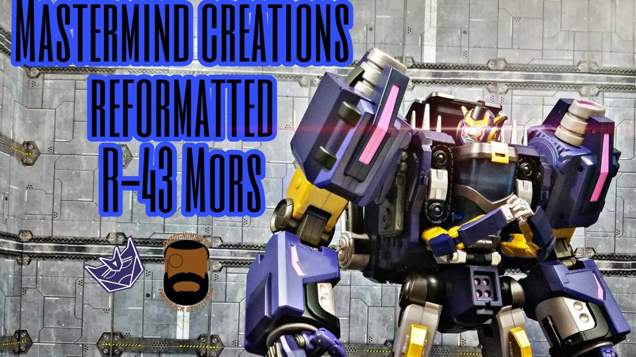 Mastermind Creations Reformatted R-43 Mors Review by Sardo-numspa82