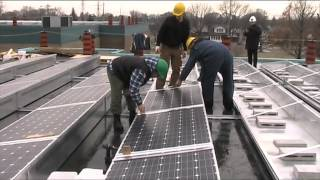 Solardock Module install video real time.avi