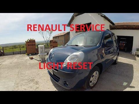 Renault Service Light RESET Kangoo Megane Duster Scenic Laguna Trafic
