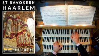 🎵 Bach - Prelude & Fugue in D BWV 532 | St Bavokerk, Haarlem (Netherlands)