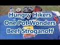 Hungry Hikers Beef Stroganoff Review