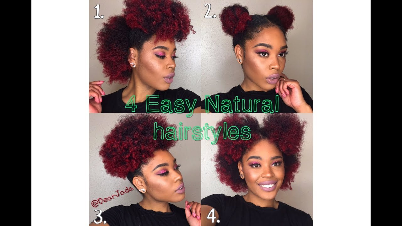 4a natural hair styles 4 and easy hairstyles for 3c 4a 4b hair 2480 | maxresdefault
