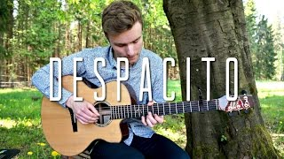 Despacito Played on Acoustic Guitar (fingerstyle)