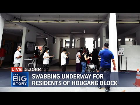 30 new local Covid-19 cases; mandatory swabbing begins for Hougang block residents | THE BIG STORY