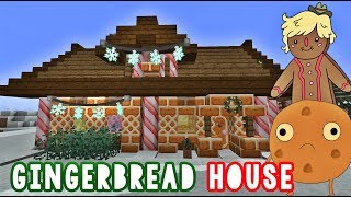 Minecraft 🎄GINGERBREAD HOUSE! ✨