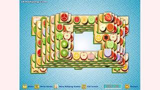 How to play Fruit Mahjong Hollow Mahjong game | Free online games | MantiGames.com