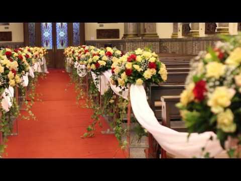 Decoração de Casamento  - Paróquia São Luis Gonzaga