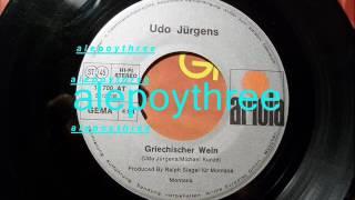 Udo Jurgens - Griechischer Wein 45 rpm