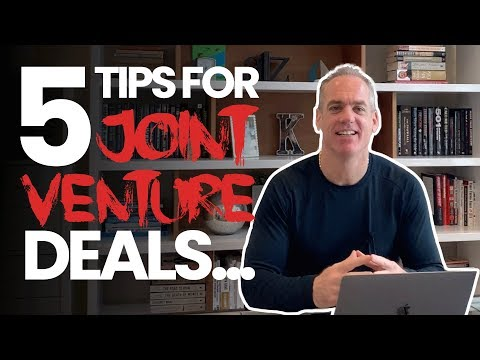 5 Tips for Setting Up Your Joint Venture Real Estate Deals in Canada