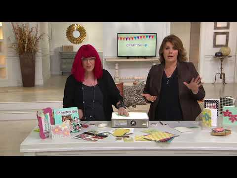 Lasting Impressions Hand Embossing Tool Kit on QVC