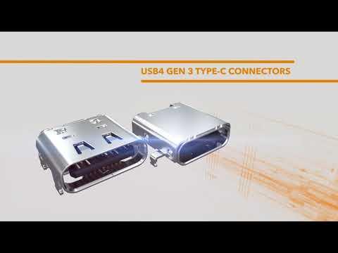 USB 4 Gen 3 Type-C Connectors