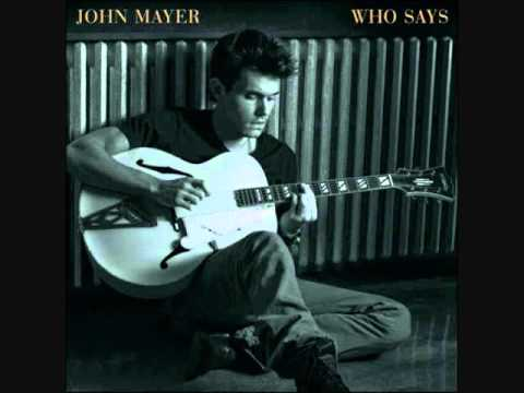 Victoria - John Mayer (1999 Inside Wants Out)