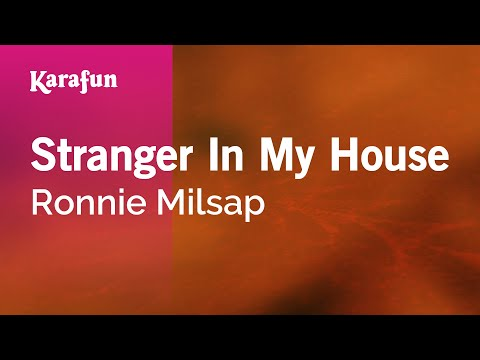 Karaoke Stranger In My House - Ronnie Milsap *