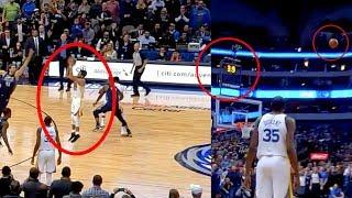 Curry Game Winning Dagger | GSW vs MAVS (Random Moments)