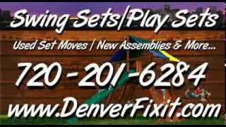 Denverfixit.com - Denver Colorado's #1 Independent Swingset/playset Installers
