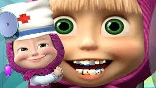 Маша и Медведь У Маша Заболели Зубы Лечим Зубы Маше Игра