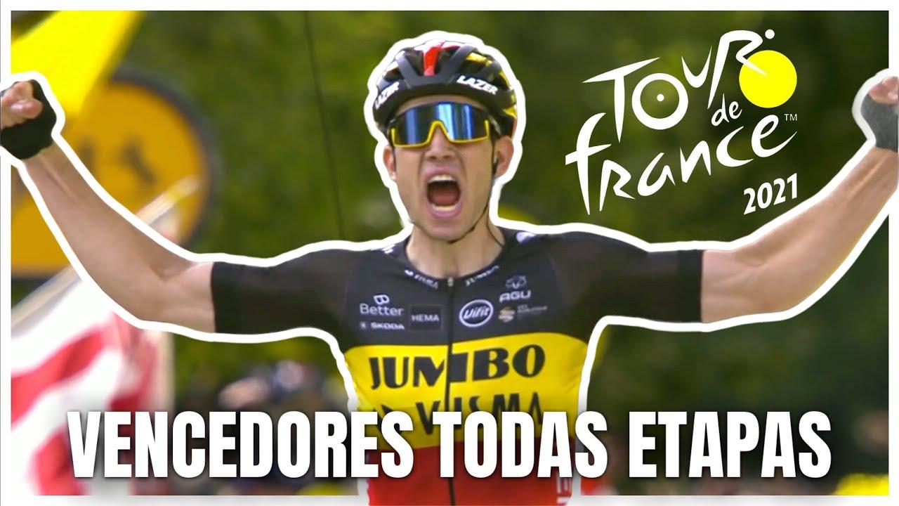 Tour de France - Todos vencedores das etapas