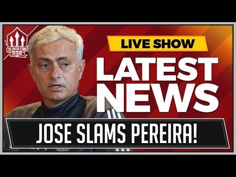 MOURINHO Questions PEREIRA MANCHESTER UNITED Commitment! STOKE vs MAN UTD Preview
