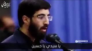 بكاء السيد الخامنئي علي لطمية  رادود ايراني