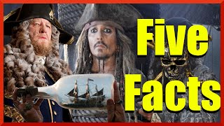 pirates of the caribbean 5 5 facts