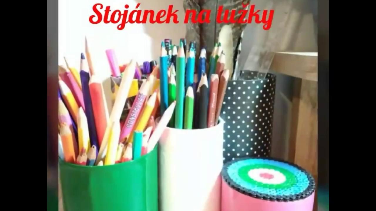 Stojánek na tužky a jiné drobnosti   návod   plechovka 0e98c76f96b
