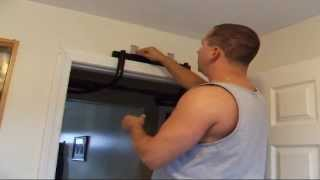 How To Install The P90X Chin-up Bar