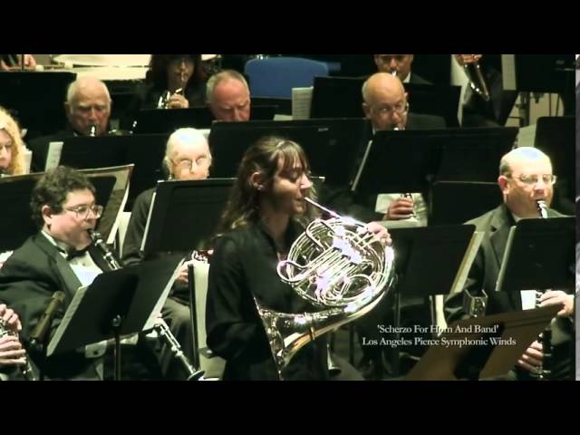 Scherzo for Horn and Band