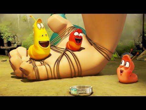 LARVA - HUMAN HAND | Cartoons For Children | Larva Full Movie | Larva Cartoon | LARVA Official
