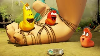 LARVA - HUMAN HAND | Cartoons For Children | Larva Full Movie | Larva Cartoon | LARVA Official
