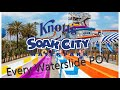 Knott's Soak City Waterpark All Slides (HD POV) Knott's Berry Farm, Buena Park, CA