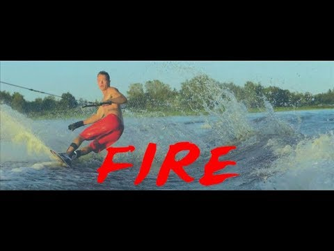 AWESOME WaterSki ! FIRE 🔥 Slingshot Brothers (ft.Guillaume Tetreault)