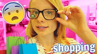 GOING SHOPPING WITH MUM VLOG! 😱👓 *glasses*