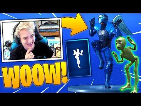 Ninja Reacciona A *NUEVO BAILE* LOCURA (Dame Tu Cosita) En FORTNITE - Fortnite WTF Y Funny Moments